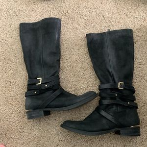 Steve Madden Albany leather boots